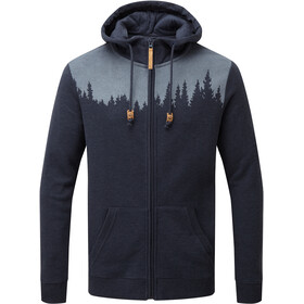 tentree Juniper Zip Hoodie Men dark ocean blue heather